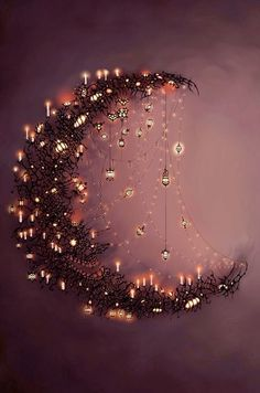 moon fairy lights
