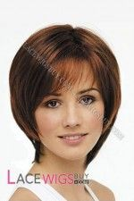 This Caring Wig by Revlon, is a stunning style that features feathery bangs and layered sides with a slightly longer neckline for a shaggy natural look. Straight Hairstyles, Cool Hairstyles, Glamorous Hairstyles, Classic Haircut, Monofilament Wigs, Latest Colour, Short Wigs, Natural Looks, Textured Hair