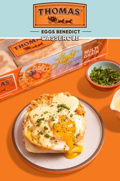 Not only will the family love this classic Thomas' Eggs Benedict Casserole, they'll love you for making it. You don't even have to tell them we suggested it! The credit is all yours. Breakfast Dishes, Breakfast Time, Breakfast Recipes, Mexican Breakfast, Breakfast Sandwiches, Breakfast Pizza, Egg Recipes, Brunch Recipes, Cooking Recipes