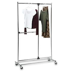 Bed Bath And Beyond Garment Rack Interesting The Triple Sorter Laundry Center With Hanging Bar Is A Musthave For Design Ideas