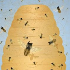 A swarm in May is worth a load of hay; a swarm in June is worth a silver spoon; but a swarm in July is not worth a fly