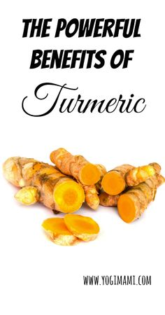Benefits of Turmeric and recipes for how to use it.