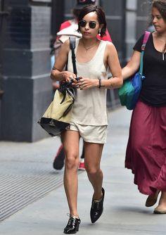 zoe-kravitzdaily: Zoe in New York City