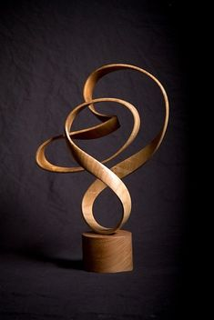 John McAbery wood sculpture: