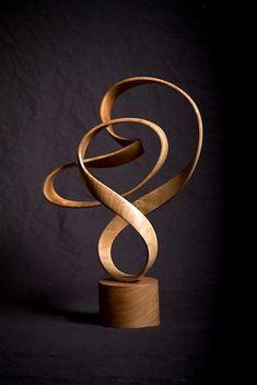 John McAbery wood sculpture: