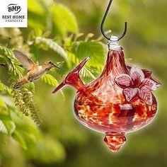 hummingbird feeder can be great art