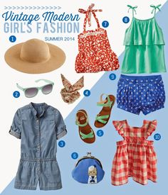 Vintage Inspired Children's Style LOVE!