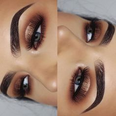 Gorgeous Makeup: Tips and Tricks With Eye Makeup and Eyeshadow – Makeup Design Ideas Eye Makeup Tips, Eyebrow Makeup, Glam Makeup, Makeup Goals, Makeup Geek, Makeup Inspo, Eyeshadow Makeup, Makeup Addict, Beauty Makeup