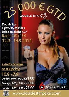 DoubleStar OPEN 25,000 GTD 12. - 14.9.2014