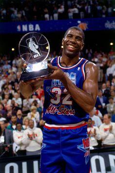 Magic Johnson M.V.P., '92 All Star Game.
