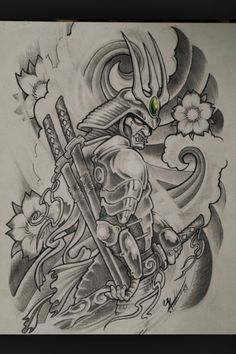 Samurai would be perfect for my back coverup! Time is coming fast and much pain, which I love!