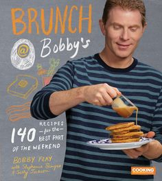 Williams-Sonoma's October 2015 Cooking Club features the new Bobby Flay book Brunch at Bobby's. Brunch Recipes, Gourmet Recipes, Breakfast Recipes, Dessert Recipes, Cooking Recipes, Flambe Recipe, Bobby Flay Brunch, Bobby Flay Recipes, Tv Chefs