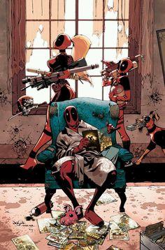 #Deadpool#Fan#Art. (Deadpool Family#1cover) By: Jason Pearson.  (THE * 5 * STÅR * ÅWARD * OF: * AW YEAH, IT'S MAJOR ÅWESOMENESS!!!™)[THANK U 4 PINNING!!!<·><]<©>ÅÅÅ+(OB4E)     https://s-media-cache-ak0.pinimg.com/474x/90/46/ba/9046bac38763cb05514119fe5e4aea84.jpg