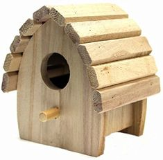 Plaid 12435 Birdhouse Round Wood Surface for Crafting, Mini Homemade Bird Houses, Bird Houses Diy, Bird House Plans, Bird House Kits, Bird House Feeder, Bird Feeders, Birdhouse Designs, Small Wood Projects, Wood Bird