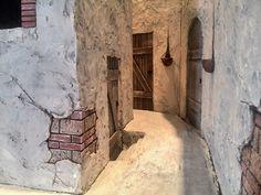Belen artesanal: Catálogo de construcciones Fontanini Nativity, Belem, Miniature Rooms, Mobile Home, Miniture Things, Sculpture Art, Landscape, Nativity Scenes, Escala Ho