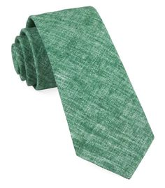 Freehand Solid Ties - Green | Ties, Bow Ties, and Pocket Squares | The Tie Bar