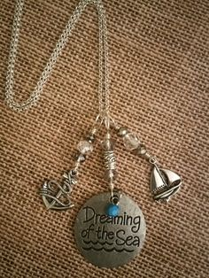 Dreaming of the Sea Ocean/Beach Themed Charm by PiccadillyCharms