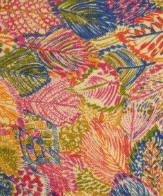 Velvet Love Leaf C Lilestone Wool, Libery Art Fabrics  Size 142cm width   Price £49.95