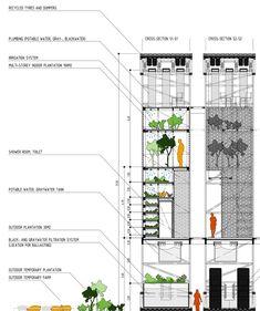 Migrant Skyscraper concept by Damian Przybyła by Rafał Przybyła