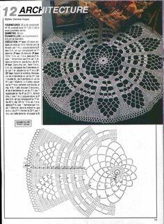 View album on Yandex. Crochet Dollies, Crochet Potholders, Crochet Tablecloth, Crochet Art, Free Crochet, Crochet Doily Diagram, Filet Crochet Charts, Crochet Square Patterns, Crochet Stitches