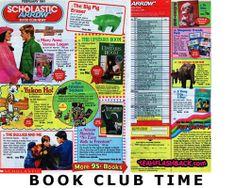 scholastic book club.