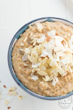 Banana Coconut Crunch Steel Cut Oatmeal