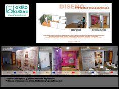 Diseño expositivo, montaje de exposiciones, museos y centros de interpretación con Grupo Axfito y Axfito Culture