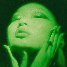 Lime green demon (aesthetique) Plus Size plus size blouses Dark Green Aesthetic, Rainbow Aesthetic, Aesthetic Colors, Aesthetic Pictures, Couple Aesthetic, Aesthetic Collage, Travel Couple Quotes, Couple Travel, Verde Vintage