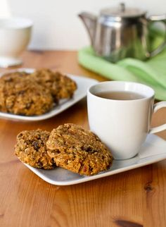 Oh Mega Carrot Cake Breakfast Cookies & Superfood Green Monster — Oh She Glows