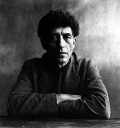 Alberto Giacometti  photograph: irving penn