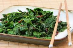 I was intrigued by the idea of stir-frying radish  greens, but if you're not that adventurous, think of this as a recipe for spicy stir-fri...