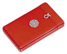 Lacquered cigarette box - Art Deco Era Jewelry - AJU