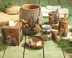 Rustic Accessories Fishing Themed Home Decor Trend Design And