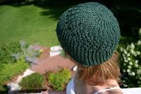 The Fuzzy Square: Knit Hat