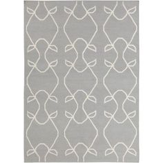 Chandra Lima LIM25706 Gray Wool Area Rug -