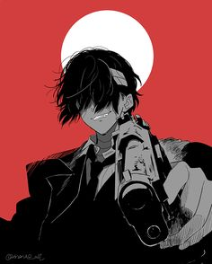 Boys Anime, Dark Anime Guys, Manga Boy, Dazai Bungou Stray Dogs, Stray Dogs Anime, Arte Ninja, Japon Illustration, Dazai Osamu, Handsome Anime