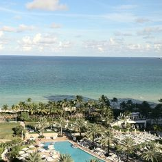 Fountainbleau Miami -view from room