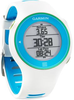 Accurate distance, pace, GPS position & more—Garmin Forerunner 610 GPS Fitness Monitor.