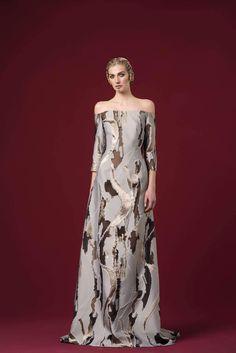 Ny Fashion, Work Fashion, Womens Fashion, Off Shoulder Long Dress, Off The Shoulder, Winter 2017, Fall Winter, Fancy Dress, Camouflage