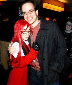 J Michael Tatum with a Grell Cosplayer!!