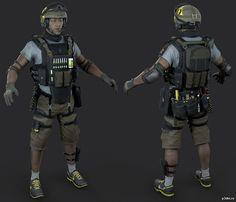 SDU - Lesion » Pack 3D models Rainbow Six Siege Art, Rainbow 6 Seige, 3d Model Character, Character Modeling, Zbrush, Siege Operators, Apocalypse Character, Combat Suit, Bioshock