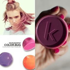 According to @Refinery29, one of the hottest #DIY trends for #Spring are color splashed tresses. Use our @Love Kevin Murphy #colorbugs and make sure your hair is on point! (Gorgeous model @maddbrown rockin' it right) #KevinMurphy