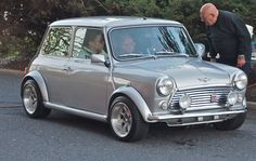 '69 Mini Cooper. Pic by: Joe Danon