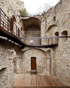 LD+SR, Andrea Bosio · Restoration of Doria Castle in Dolceacqua