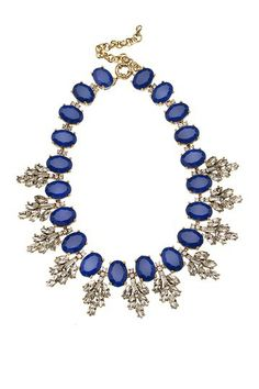 Cobalt Blue Frosting Necklace by t+j Designs on @HauteLook