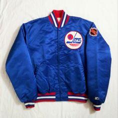 02b61b26e9e Vintage Late-80s Winnipeg Jets Starter Jacket. Men's XL (pre-owned)