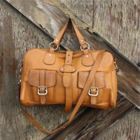 I think I am going to start collecting leather weekender bags! Love 'em!