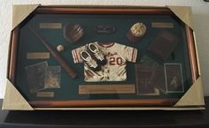 Handcrafted Shadow Box-The Game Of Baseball Classic 20.5x11x2 New  | eBay