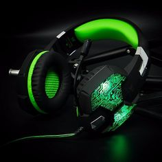 Cheap gaming headphones, Buy Quality headphone for computer directly from China headphone headphone Suppliers: Gaming Headphone Gaming Headset Casque Gamer Stereo Headphone With Microphone Mic Led Game Headsets For PC Computer Enjoy ✓Free S Gaming Headphones, Headphones With Microphone, Best Headphones, Headphone With Mic, Gaming Headset, Gaming Computer Setup, Led Shop Lights, Games, Gadgets
