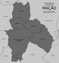 Freguesias do concelho de Mação